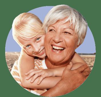 С бабушкой на море
