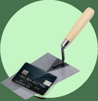 Оплачивайте картой с повышенным кешбэком в категории «ремонт»