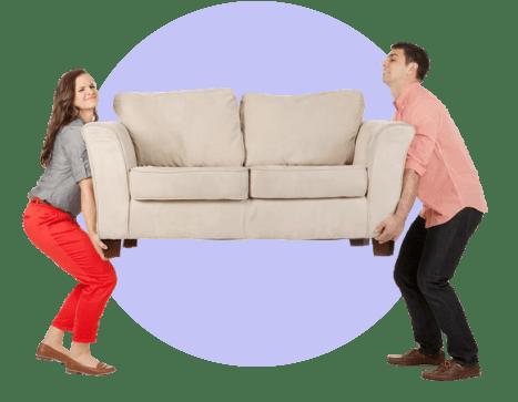 Покупаем мебель в квартиру за счет жильцов