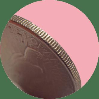 Почему у монет ребристые края