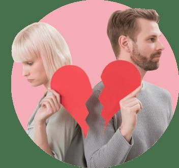 Как разводы зависят от денег