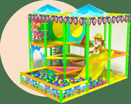 Детские игровые в торговых центрах