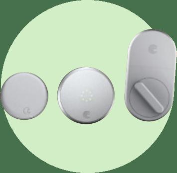 Дверной замок с блокировкой August Smart Lock Pro