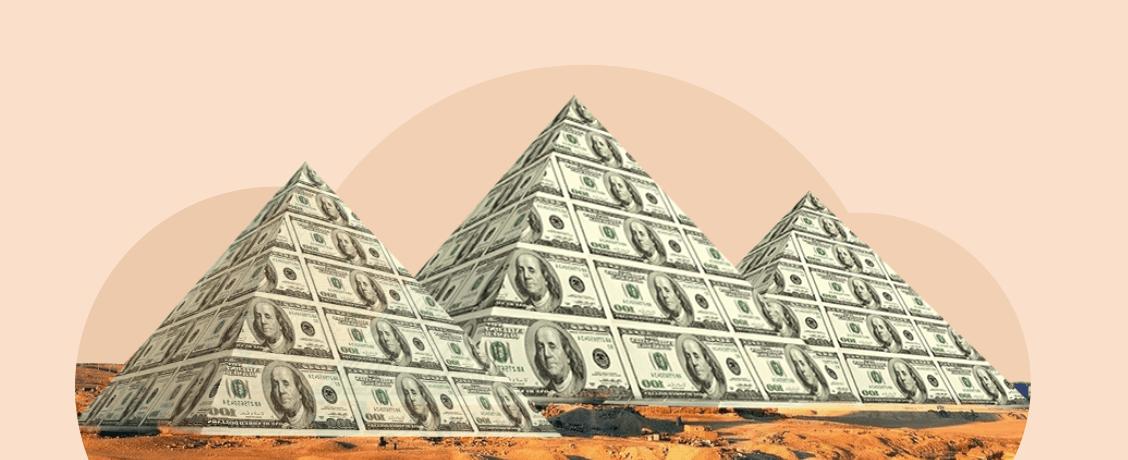 Финансовые пирамиды: куда можно слить деньги в 2021 году