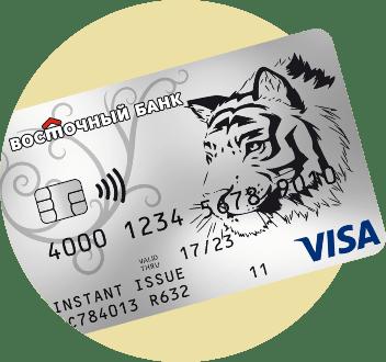 Кредитка Cashback от банка «Восточный»