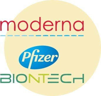 1-2 место: Moderna (США) / Pfizer-BioNTech (США — Германия)