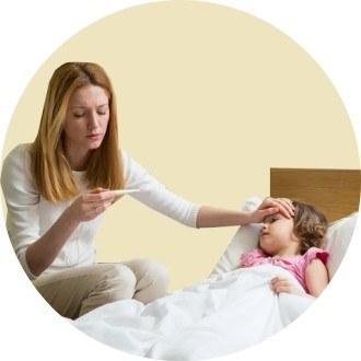 Больничные по уходу за детьми