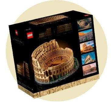 6 место: Колизей — 9 036 деталей