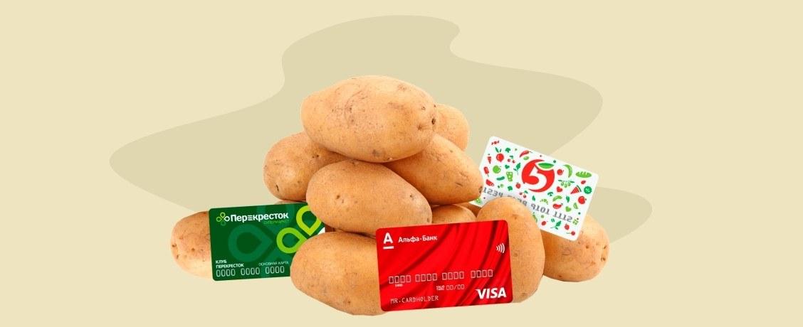 «Пятерочка» VS «Перекресток»: стоит ли копить бонусы в супермаркетах картами Альфа-Банка