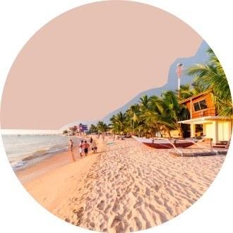 На пляжи Шри-Ланки