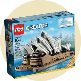 8 место: Сиднейский оперный театр — 2 989 деталей