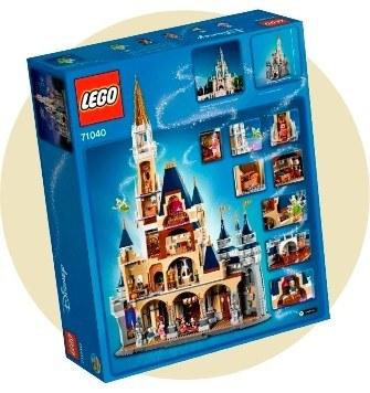 9 место: Замок «Дисней» — 4 080 деталей