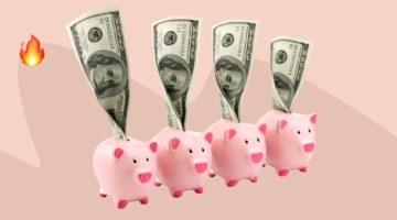 Каждый месяц откладываем по 400 долларов, чтобы прийти к финансовой независимости