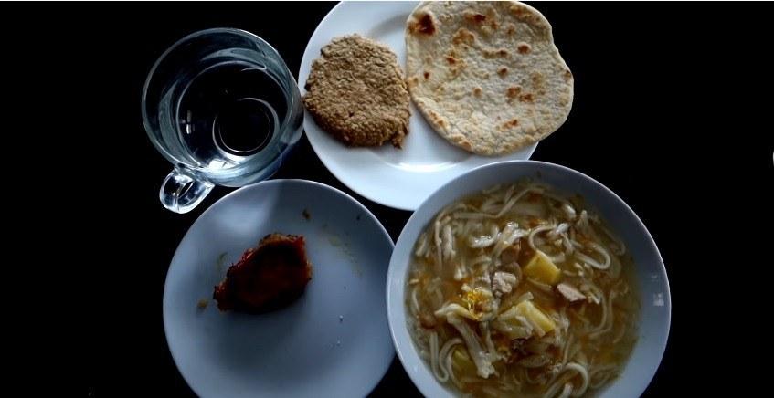 Обед при выживании на 1000 в месяц