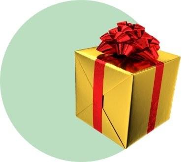 «Это подарок»