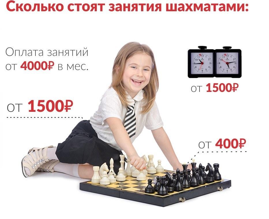 Сколько стоят занятия шахматами