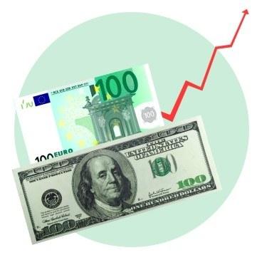 Доллар и евро снова подорожают