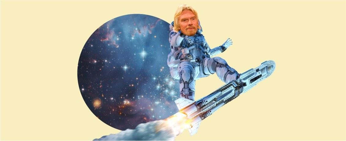 Полет Брэнсона в космос