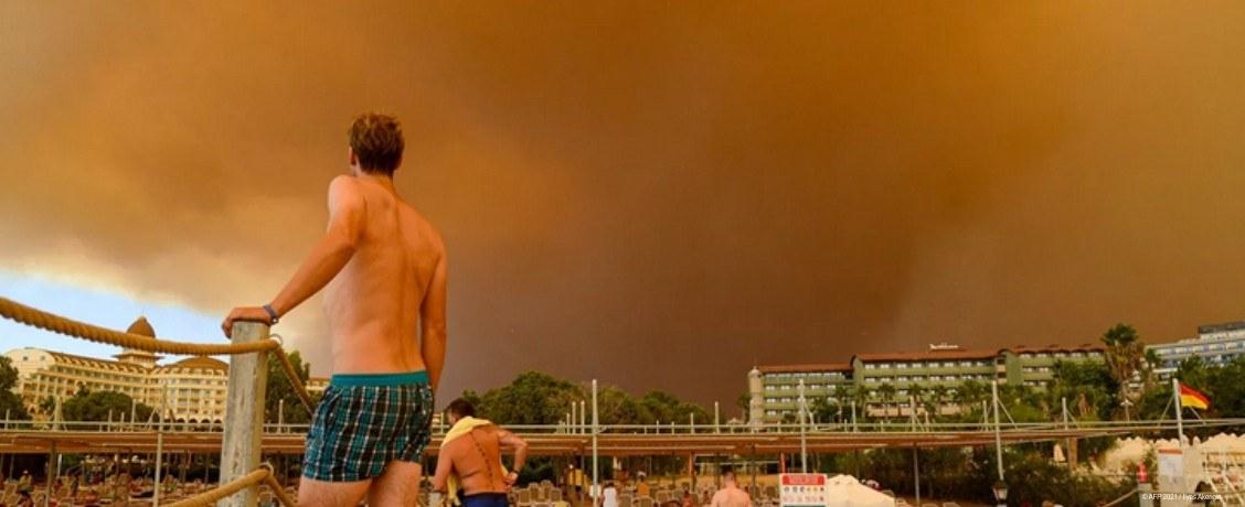 пожары в турции и российские туристы
