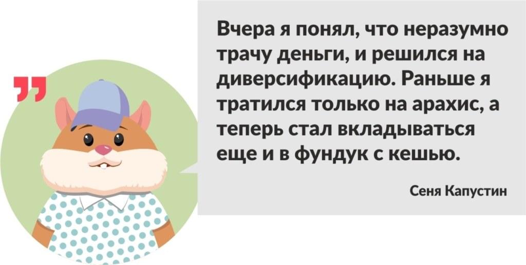 хомяк Сеня Капустин
