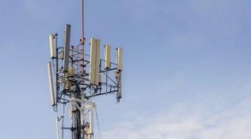 вышки мачты сотовой связи 5G